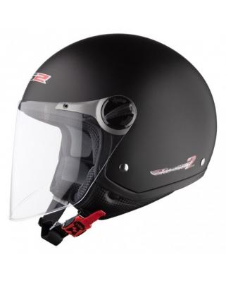 LS2 OF560.1 ROCKET II MATT BLACK otevřená moto helma
