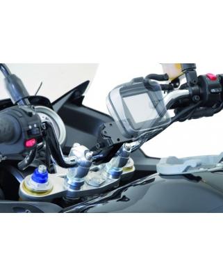 Držák GPS na 28 mm řídítka stříbrný
