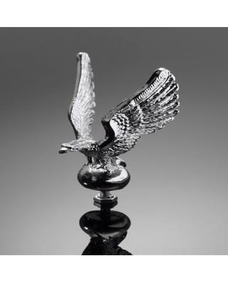 HIGHWAY HAWK Soška na blatník Eagle, chrom