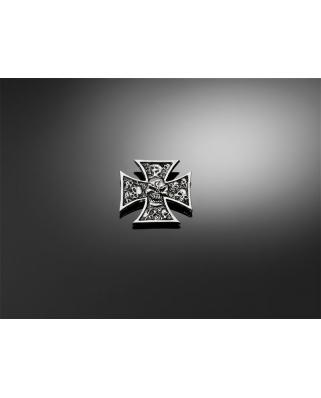 Šroubovací emblém HIGHWAY HAWK Skull Cross Grave