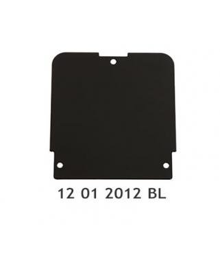 Černý kryt pro opěrky EMP De Luxe VKT
