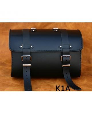 Kožený moto kufr K1, 19L