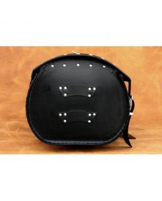 Kožený moto kufr K6, 60x27x32cm