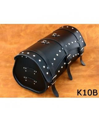 Kožený moto kufr K10, 50/60 x 29 x 29cm