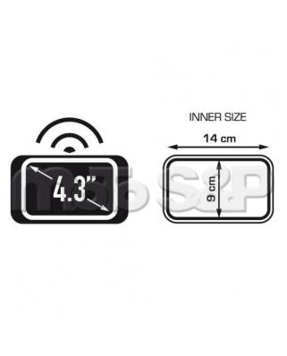 Givi S 953B textilní taštička na uchycení telefonu nebo navigace do 4,3, s připevněním k řídítkům
