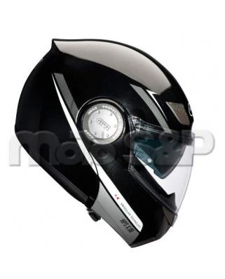 GIVI X.08F N901 vyklápěcí helma, černá metalíza, se sluneční clonou, odklápěcí čelist