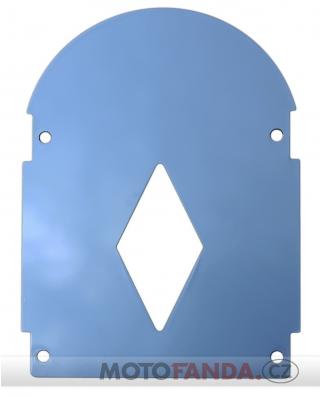 Chromový kryt pro opěrky Basic, Basic Plus a De Luxe
