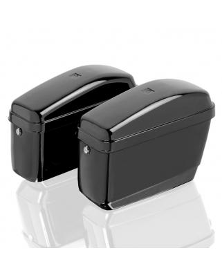 Pevné boční kufry z ABS se zámky - Universal, 2x20L