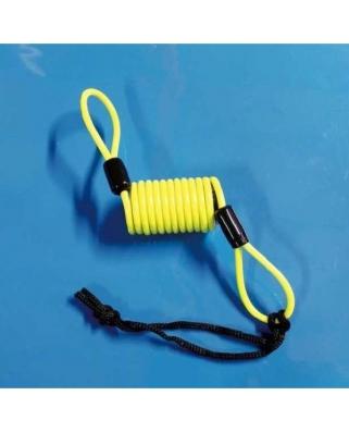 Upozorňovací kabel na zámek kotouče