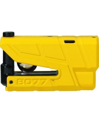 Abus Granit Detecto X-Plus 8077 yellow - zámek na kotoučovou brzdu s alarmem