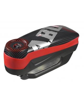 Abus Detecto 7000 RS1 Pixel red - zámek na kotoučovou brzdu s alarmem