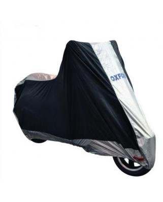 Plachta na motorku Aquatex Scooter 2016, OXFORD  (černá/stříbrná, univerzální velikost)