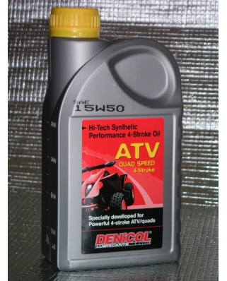 Denicol olej ATV QUAD 4 T 15W50 - 1L