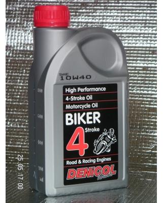Denicol olej BIKER 4T 10W40 - 1L