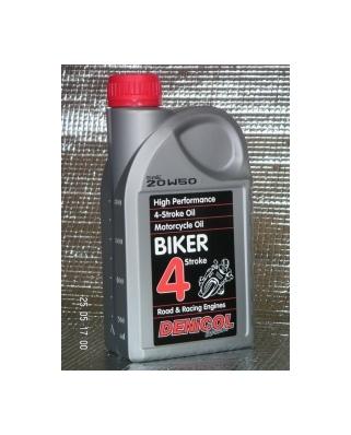 Denicol olej BIKER 4T 20W50 - 1L