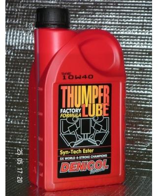 Denicol olej THUMPER LUBE 10W40 - 1L
