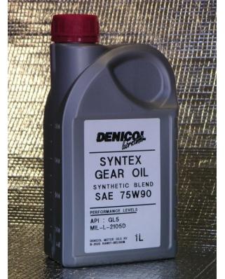 Denicol olej SYNTEX GEAR OIL 75W90 - 1L