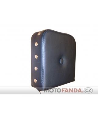 Polštář pro opěrku EMP De Luxe VKT s knoflíkem a s nýty