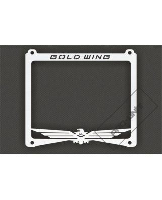 Ozdobný rámek na SPZ GOLD WING