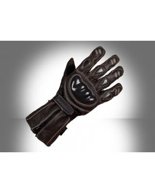Ultimate Streetfighter - kožené rukavice na motorku
