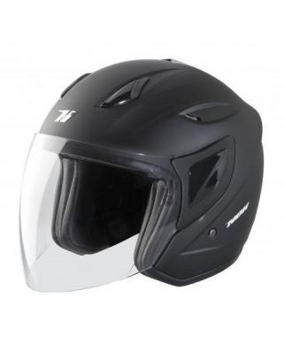 Nox N640 otevřená moto přilba, černá-matná