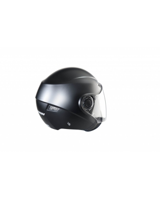 Nox N630 otevřená přilba, černá-matná