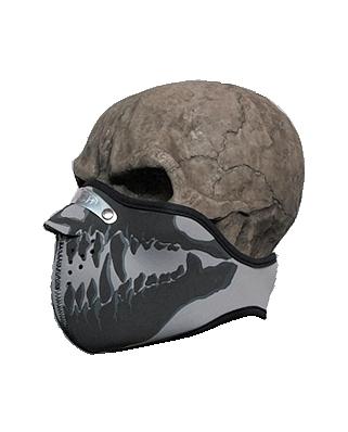 Neoprénová maska - zuby 03