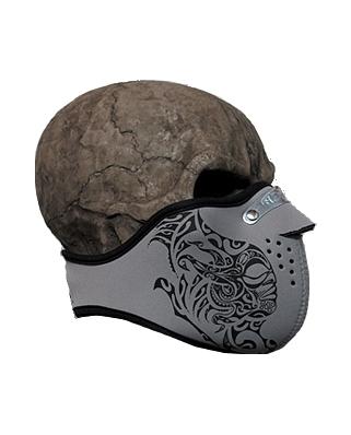 Neoprénová maska na moto