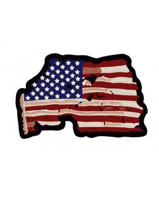 Nášivka zádovka - USA, 24 x 16cm