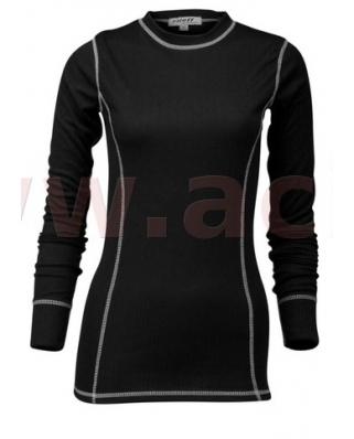 Termotriko s dlouhým rukávem, ROLEFF - Německo, dámské (černé)