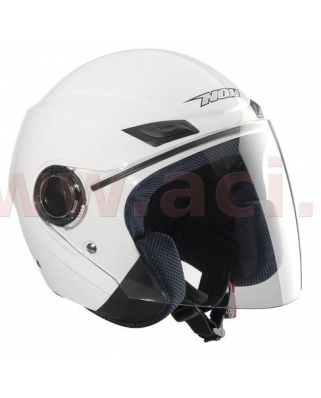 Nox N630 otevřená moto helma, bílá