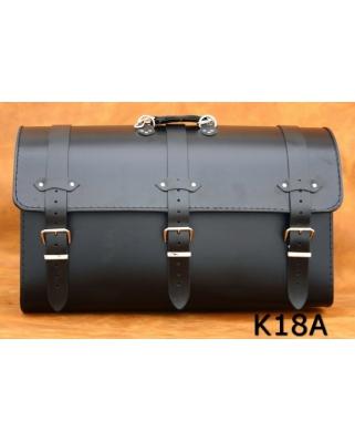 Kožený kufr na moto K18, 57 x 33 x 28cm