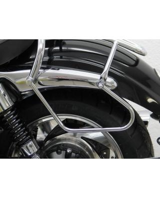 Triumph Rocket podpěry pod moto brašny