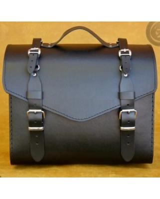 Kožený kufr K36, 36x29x25