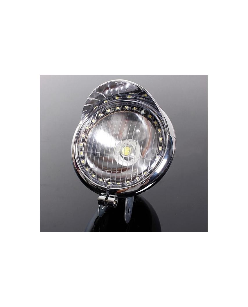 Přídavné LED světlo na motocykl