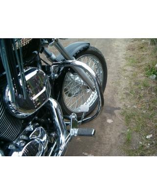 Honda Shadow VT 750 Black widow Padací rám, 32mm