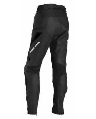 RICHA MUGELLO černé, kožené kalhoty