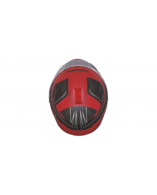CASSIDA Cyklon (černá/červená) integrální moto helma
