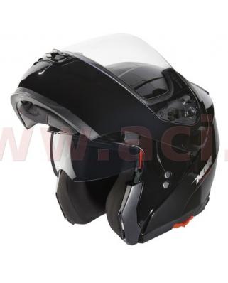 Nox N964 (černá) vyklápěcí helma se sluneční clonou