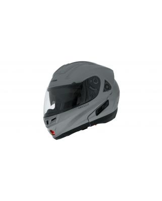 CASSIDA Modulo výklopná helma se sluneční clonou (stříbrná titanium)