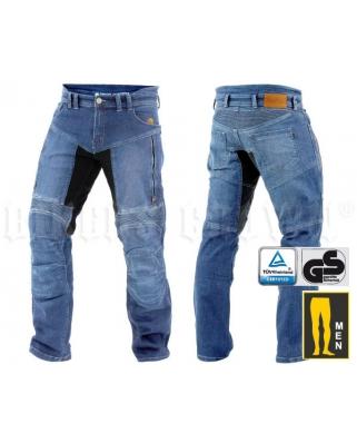 Trilobite 661 Parado TÜV CE Kevlarové jeansy pánské modré