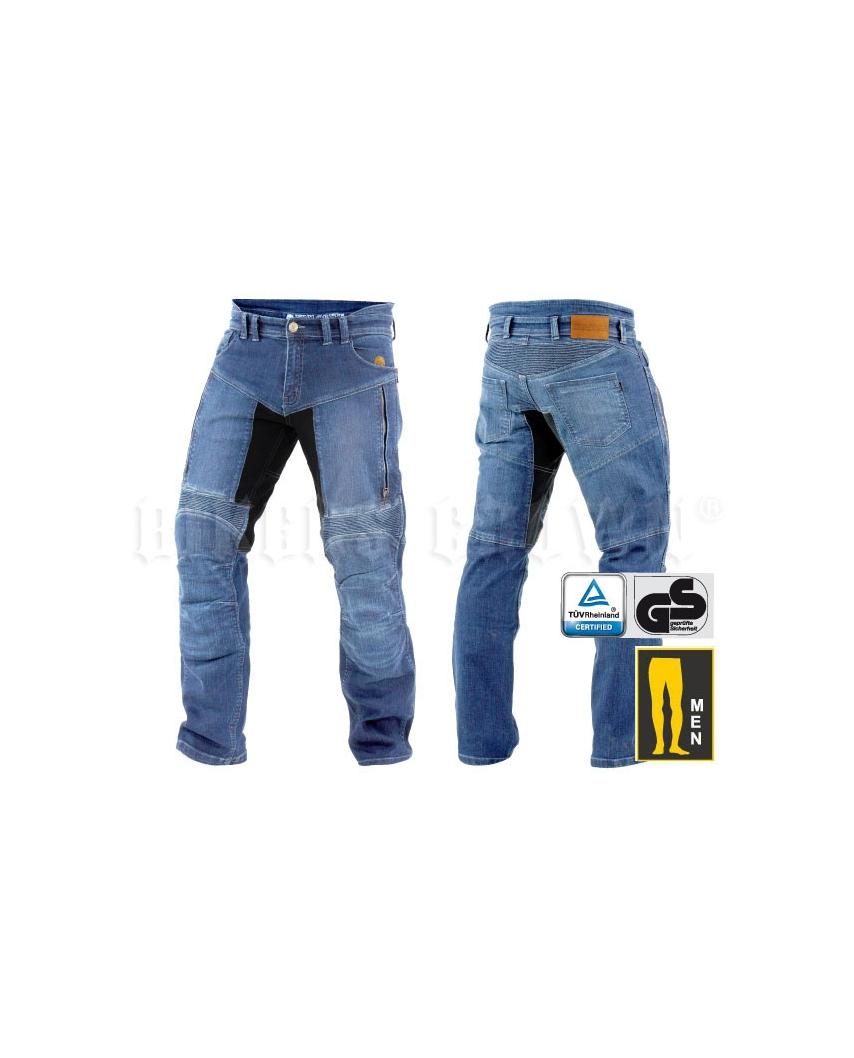 ad467746c Trilobite 661 Parado TÜV CE Kevlarové jeansy pánské modré