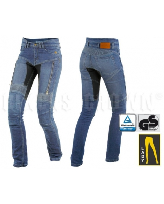 Trilobite 661 Parado TÜV CE Kevlarové jeansy dámské modré