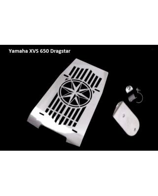 Yamaha XVS 650 Drag Star kryt motoru chromovaný