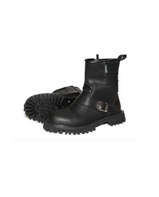 Kožené chopper boty