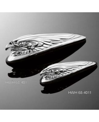 HIGHWAY HAWK Soška na blatník Eaglehead 17cm