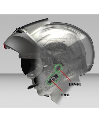 Interkom AGV SHARE EASY Bluetooth pro moto přilby AGV
