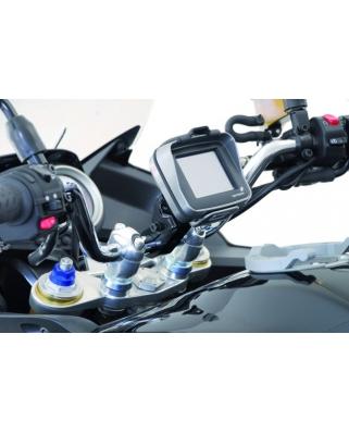 Držák GPS na 26mm řidítka stříbrný