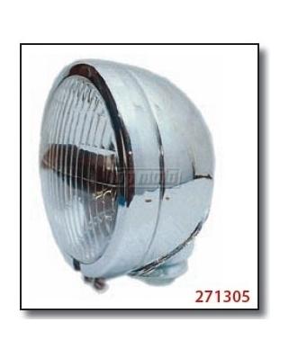 Moto světlo hlavní HARLEY-STYLE, homologované