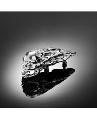 HIGHWAY HAWK Soška na blatník Skull 16,5cm